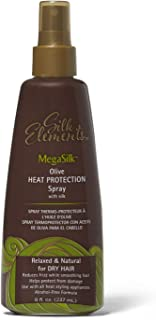 Silk Elements Megasilk Olive Heat Protection Spray - 8oz