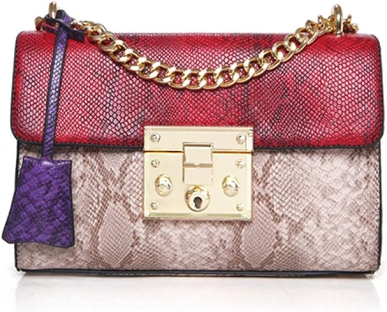 LHKFNU Luxury Handbags Women Bags Designer Serpentine Crossbody Bags for Women Messenger Bag