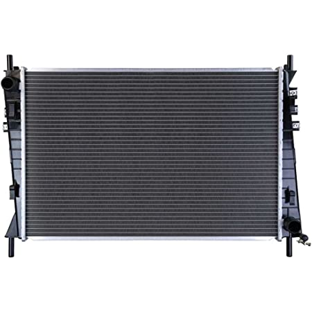 2622 Factory Style Aluminum Cooling Radiator Replacement for 02-08 Jaguar X-Type 2.5L//3.0L AT