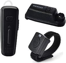 HYS Wireless Bluetooth Earpiece Walkie Talkie Headset with Wireless PTT/Dongle for Motorola XPR 6350 XPR 6550 XPR 6300 XPR 6580 XPR 7550 APX 6000 APX 4000 APX 7000 APX 7000xe APX 8000 Two-Way Radio