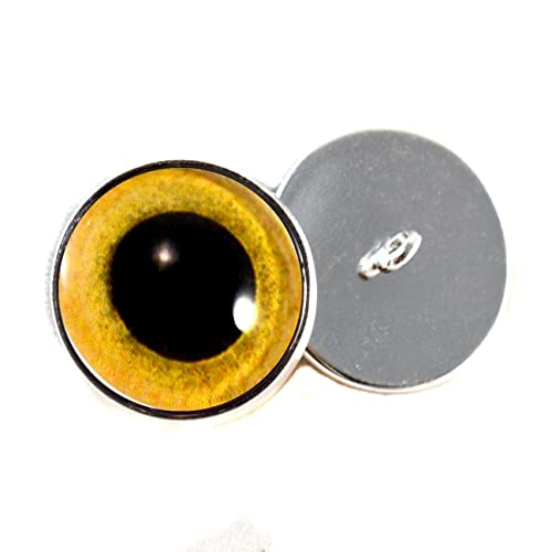 7mm Per Pair 5, 6 Glass Eyes Red Taxidermy Wood Carving 4