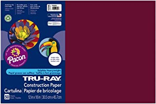 Best maroon construction paper Reviews