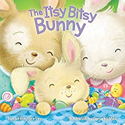 The Itsy Bitsy Bunny Easter book for babies