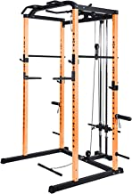 Vanswe Power Rack Power Cage 1000-Pound Capacity Home Gym Equipment Exercise Stand..