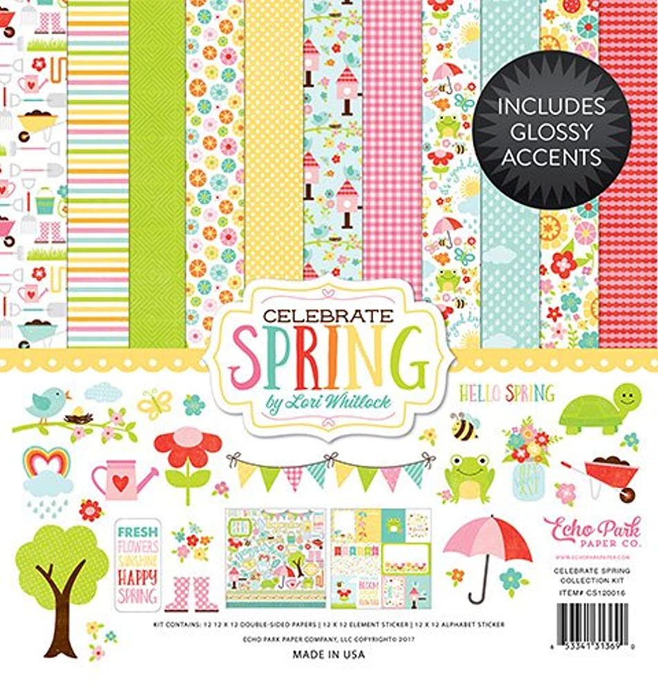 Echo Park Paper Company Celebrate Spring Collection Kit