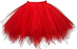 Women's 1950s Vintage Tutu Petticoat Ballet Bubble Skirt...