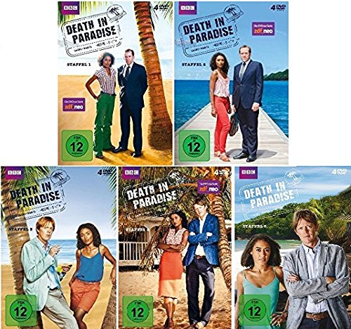 Produktbild Death in Paradise - Staffel 1-5 im Set - Deutsche Originalware [20 DVDs]