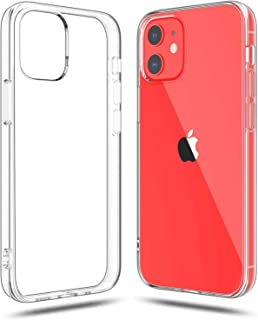 Shamo's Compatible with iPhone 12 and iPhone 12 Pro Case Clear (2020), Shockproof Bumper Cover Soft TPU Silicone Transpare...