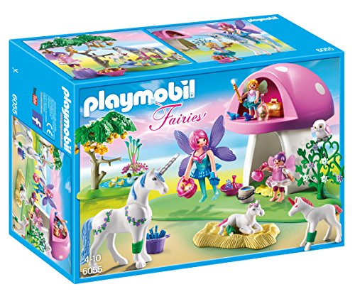 Playmobil fille licorne