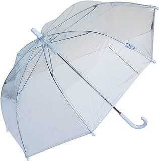 RainStoppers W103CHC 34-Inch Children's Plastic Umbrella, Clear