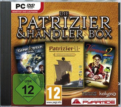 Patrizier + Händler Box (Patrizier 2 Gold, Vermeer 2, Darkstar One) [Software Pyramide]