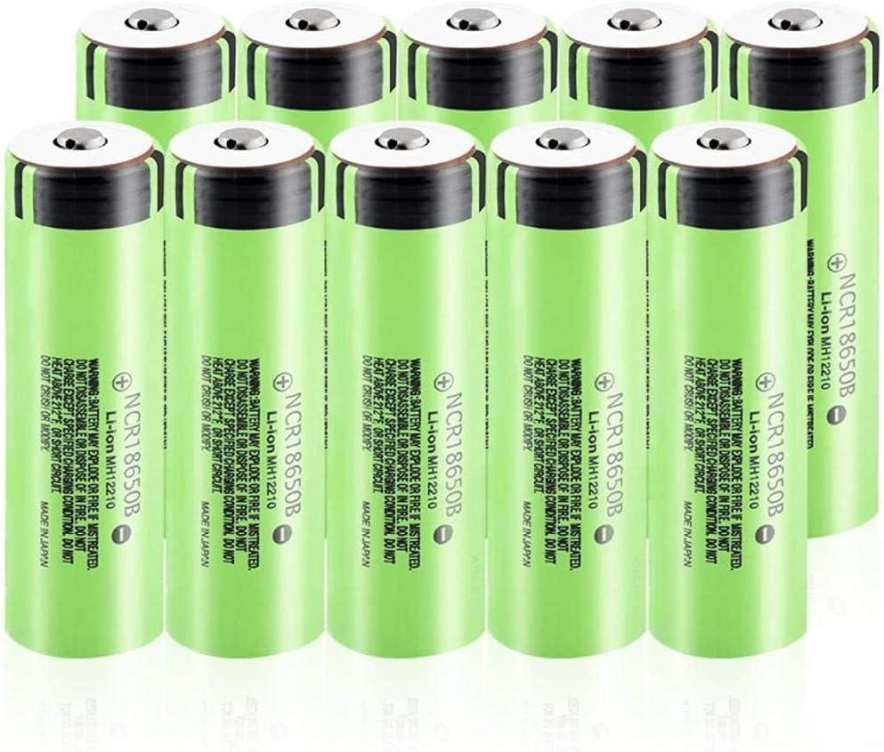 3.7v Ncr18650b 3400mah Miami Mall 18650 Manufacturer OFFicial shop Lithium Li 20a Li-Ion B Ion Battery