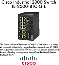 Cisco Industrial Ethernet 2000 Series - Switch - managed - 8 x 10/100 + 2 x combo Gigabit SFP - DIN rail mountable