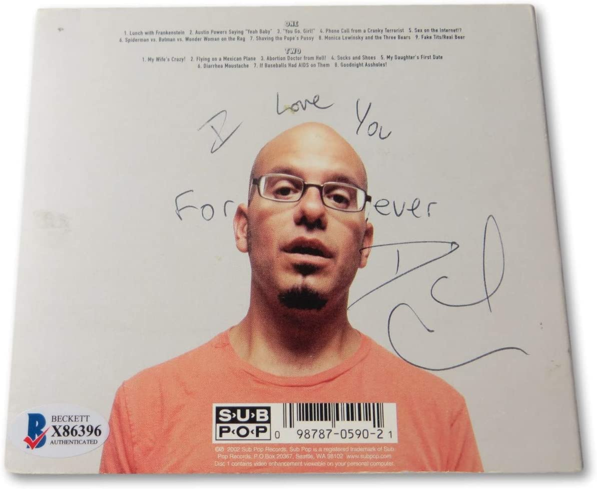 David Cross Sales of SALE items from new works Signed Autographed Gifts CD Cover Youing BAS Baby Shut Up