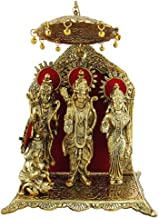Blessings Decor Oxidized Gold Plated Ram Laxman Sita Hanuman Idol, Home Decor Gift Item
