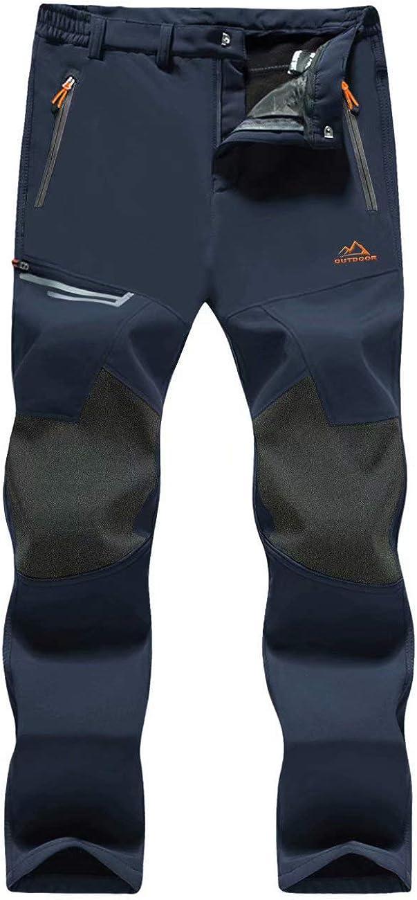 MAGCOMSEN Men's Winter Pants Fleece Max 89% Max 89% OFF OFF Ski Water Snow R Lined