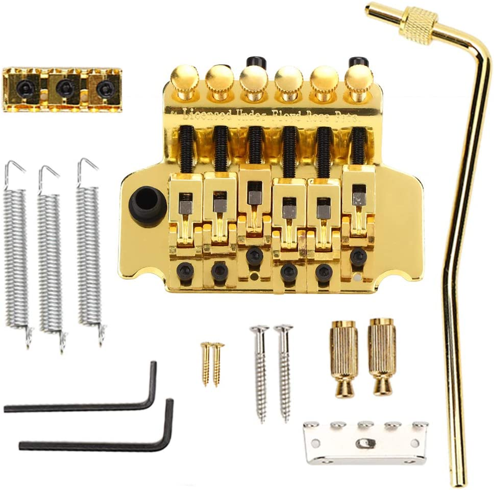 Electric Guitar Double Locking Tremolo System Compatible Bridge Same day shipping Inexpensive
