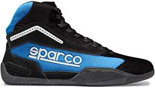 Sparco 00125932NRCE Botines para Karting, Negro/Azul, 32