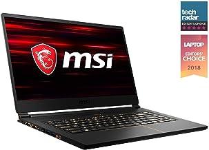 "MSI GS65 Stealth THIN-037 15.6"" 144Hz 7ms Ultra Thin Gaming Laptop GTX 1070 MAX-Q 8G, i7-8750H 6 Core, 16GB RAM, 512GB SSD..."