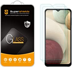 (2 Pack) Supershieldz Designed for Samsung Galaxy A12 Tempered Glass Screen Protector, Anti Scratch, Bubble Free