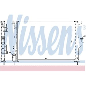 Kühler Motorkühlung NISSENS 68112