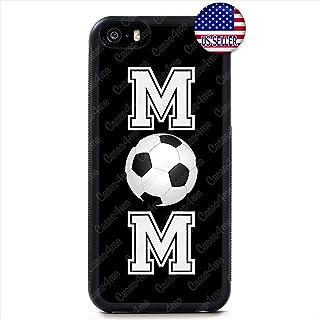 Soccer Mom Phone Cute Case Sport Futbol Fun Slim Shockproof Rubber Custom Case Cover for iPhone 11 Pro Max X XS XR 8
