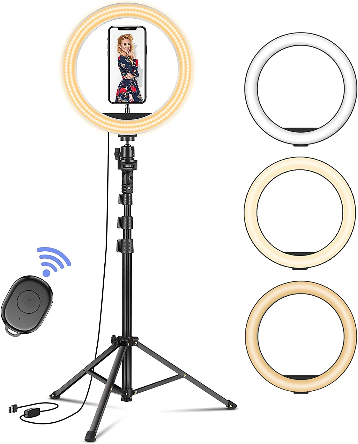 Superior Selfie Ring Light with 4 years warranty Tripod Stand Lig Modes Led 3 Befame