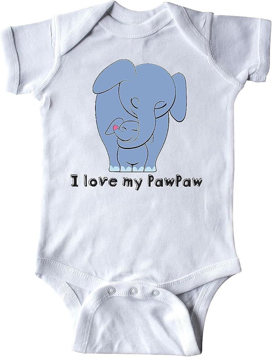 I Love My Selling service rankings Pawpaw Infant Blue Elephant Creeper