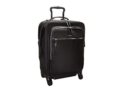 Tumi Voyageur Tres Leger International Carry-On (Black/Silver) Carry on Luggage