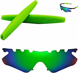 Walleva Vented Replacement Lenses Or Lenses With Earsocks For Oakley M Frame Heater Sunglasses