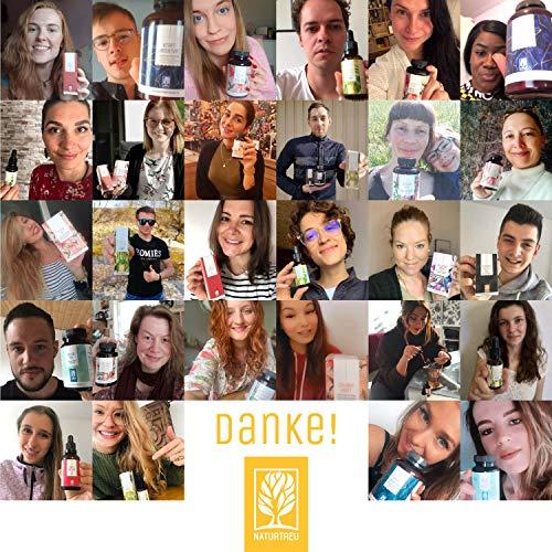 Vitamin D3 K2 Tropfen hochdosiert und vegan - 100% pflanzlich (ohne tierisches Lanolin) - 1000 IE Vitamin D vegan & Vitamin K2 - Sonnenfreund D3K2 Öl geprüft & hergestellt in Deutschland - 5