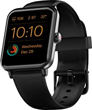 """Noise ColorFit Pro 3 Smart Watch with 1.55"""" HD Color Touch Screen, SpO2, Sleep, & Stress Monitor, Personalised Watch Faces, 5 ATM Waterproof (Jet Black)"""