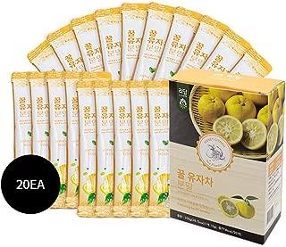 Lidam Honey Citron Tea Powder - Korean Healthy Tea (10g X 20EA)