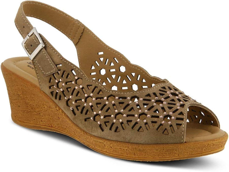 Spring Step Women's Saibara Sandals   color Beige   Leather Sandals