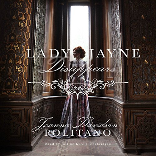 Lady Jayne Disappears audiobook cover art