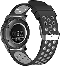 22mm Smart Watch Bands, FanTEK Silicone Sport Quick Release Strap for Samsung Galaxy Watch 3 45mm / Galaxy Watch 46mm / Ge...