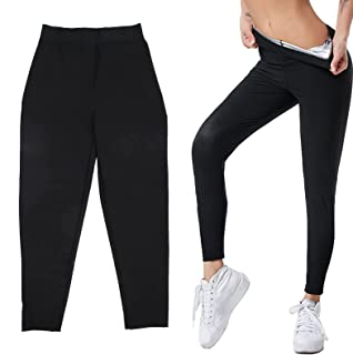 Neoprene Workout Pants, Compression Leggings Skin No Tight Skin No Stuffy Outer Fabric Is Breathable Lightweight for Pilat...