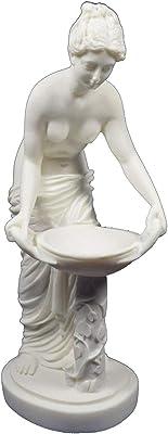 Amazon com: XoticBrands The Waltz (Marble White) - Artistic