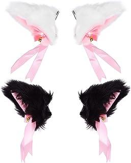 die mädchen katze ohren haarnadeln spangen kopfbedeckungen haar clips