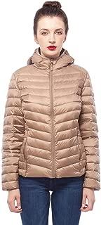 Women's Ultra Lightweight Hooded Packable Puffer Down Jacket