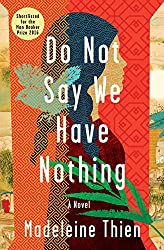 Man Booker Prize Shortlist reviews - Do Not Say We Have Nothing