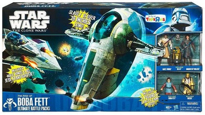 Star Wars Ultimate Battle Pack Actionfigurenset  The Rise of Boba Fett B004101PG8 Einzigartig  | Ab dem neuesten Modell