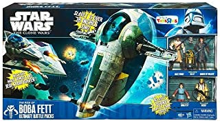 Star Wars Clone Wars Exclusive Ultimate Battle Pack Rise of Boba Fett