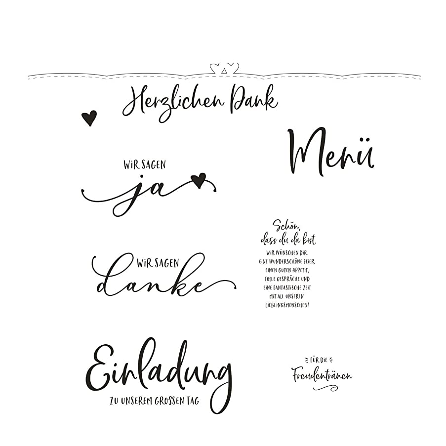 Vaessen Creative Punch and Stamp Set Bridal Couple Create Beautiful Designs for Scrapbooking, Card Making and Other Paper Projects