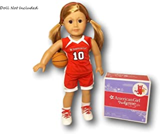 American Girl Shooting Star Basketball Outfit for 18-inch Dolls (Doll not Included)
