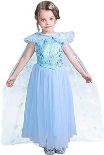 Cintura Rmoon Abiti per Bambini Ragazza Eleganti Abiti a Maniche Lunghe Bambina Abiti da Sera Bambina Elegante Costume Bambine Set Vestito