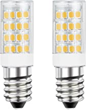 DiCUNO E14 LED Light Bulb 4W 40W Halogen Bulb Equivalent 220V Warm White 3000K 400 Lumen Non-dimmable 2-Pack