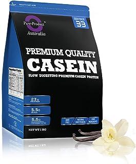 Pure Product Australia Micellar Casein Powder, Vanilla 1 kilograms