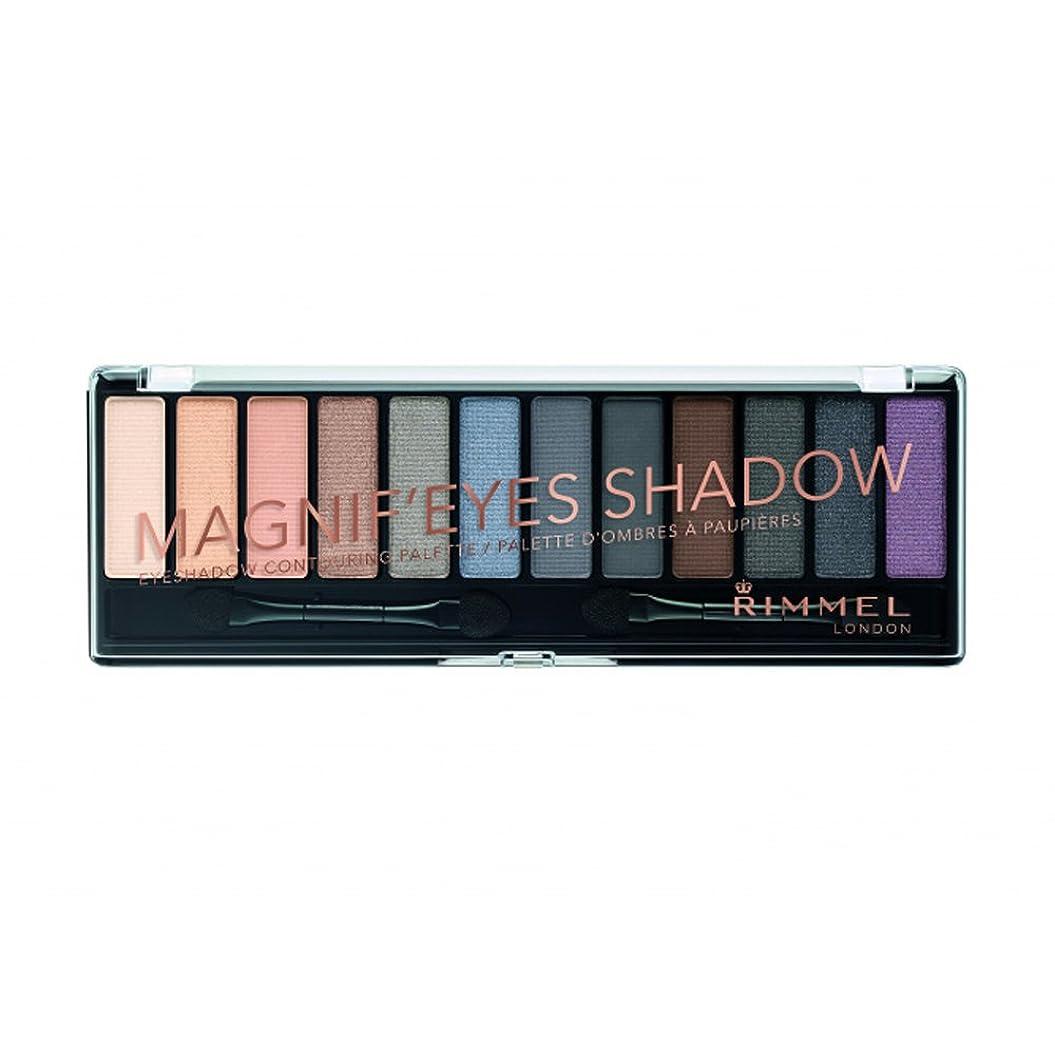 一瞬池あごひげ(6 Pack) RIMMEL LONDON Magnif'eyes Shadow - Grunge Glamour (並行輸入品)