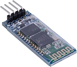 Best HiLetgo HC-06 RS232 4 Pin Wireless Bluetooth Serial RF Transceiver Module Bi-Directional Serial Channel Slave Mode for Arduino Review
